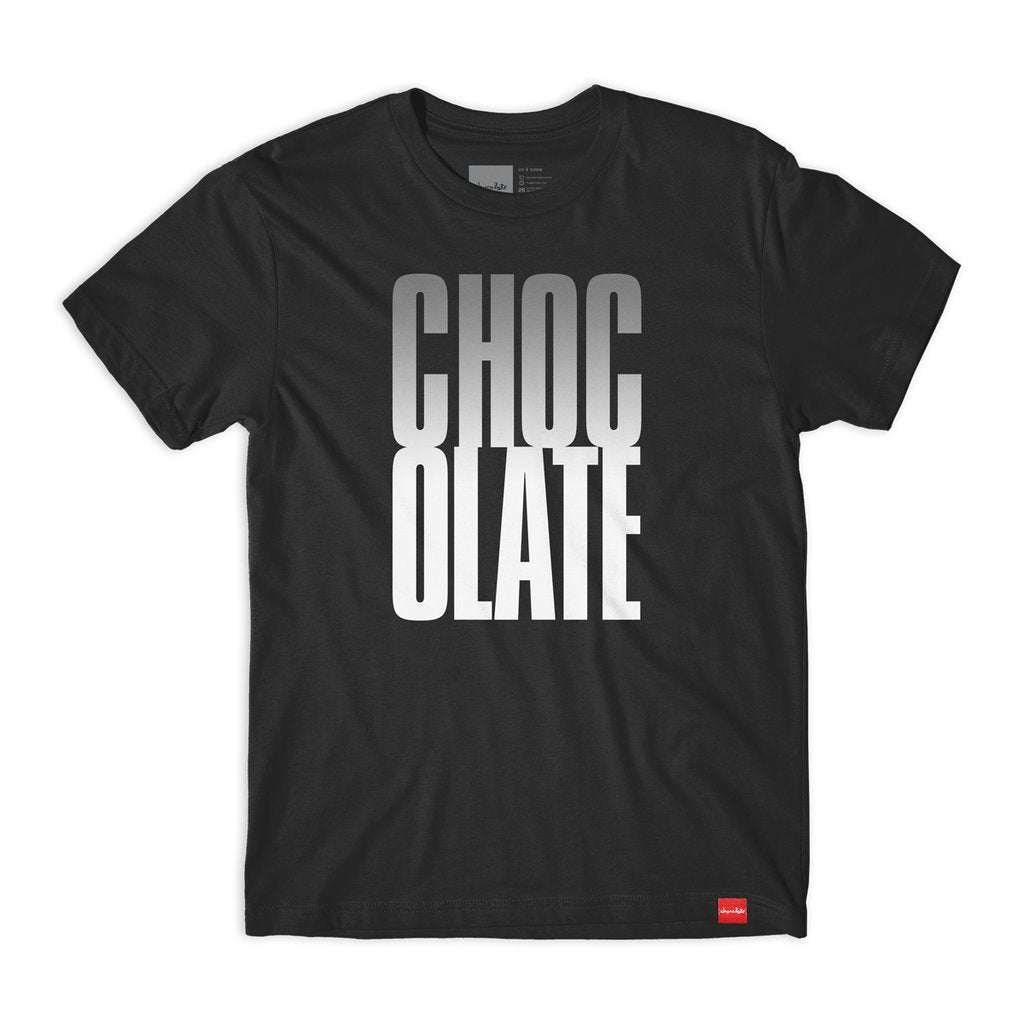 CHOCOLATE SKATEBOARD BIG CHOCOLATE TEE BLACK