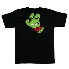 Load image into Gallery viewer, Santa Cruz TMNT Turtle Screaming Hand Shirt Blk W/Red