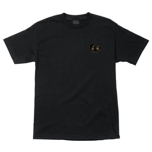 POWELL PERALTA NATAS PANTHER REGULAR T-SHIRT BLACK SMALL