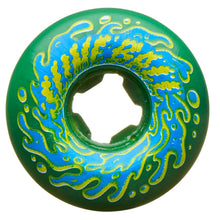Load image into Gallery viewer, Slime Balls Wheels 53mm Double Take Vomit Mini Green Black 97a
