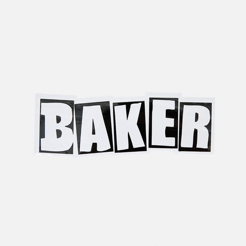 BAKER LOGO STICKER