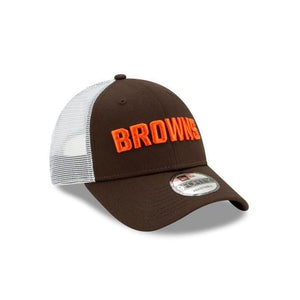 CLEVELAND BROWNS 9FORTY NEW ERA HAT BROWN