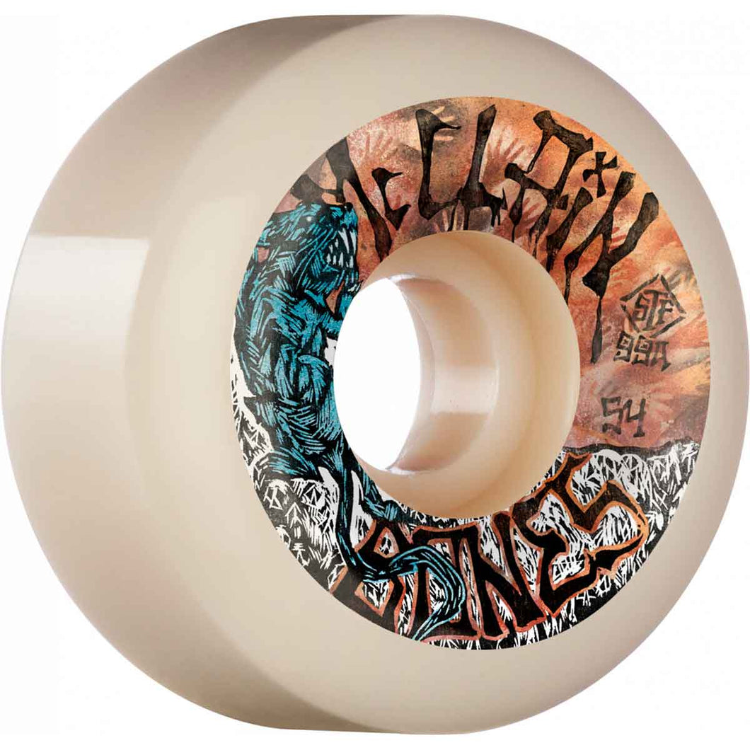 BONES WHEELS MCCLAIN PRIMAL V6 WIDE-CUT STF 99A