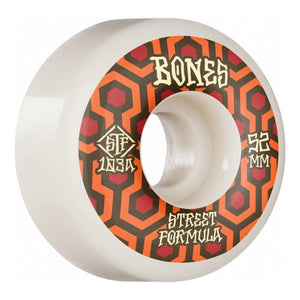 BONES WHEELS 52MM RETROS V1 STANDARDS STF 103A - MAROON