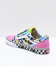 Load image into Gallery viewer, VANS OLD SCHOOL DISNEY 80'S MICKEY SHOE MENS SIZE 10.5