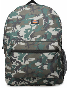 DICKIES BACKPACK BLACK ACORN CAMO