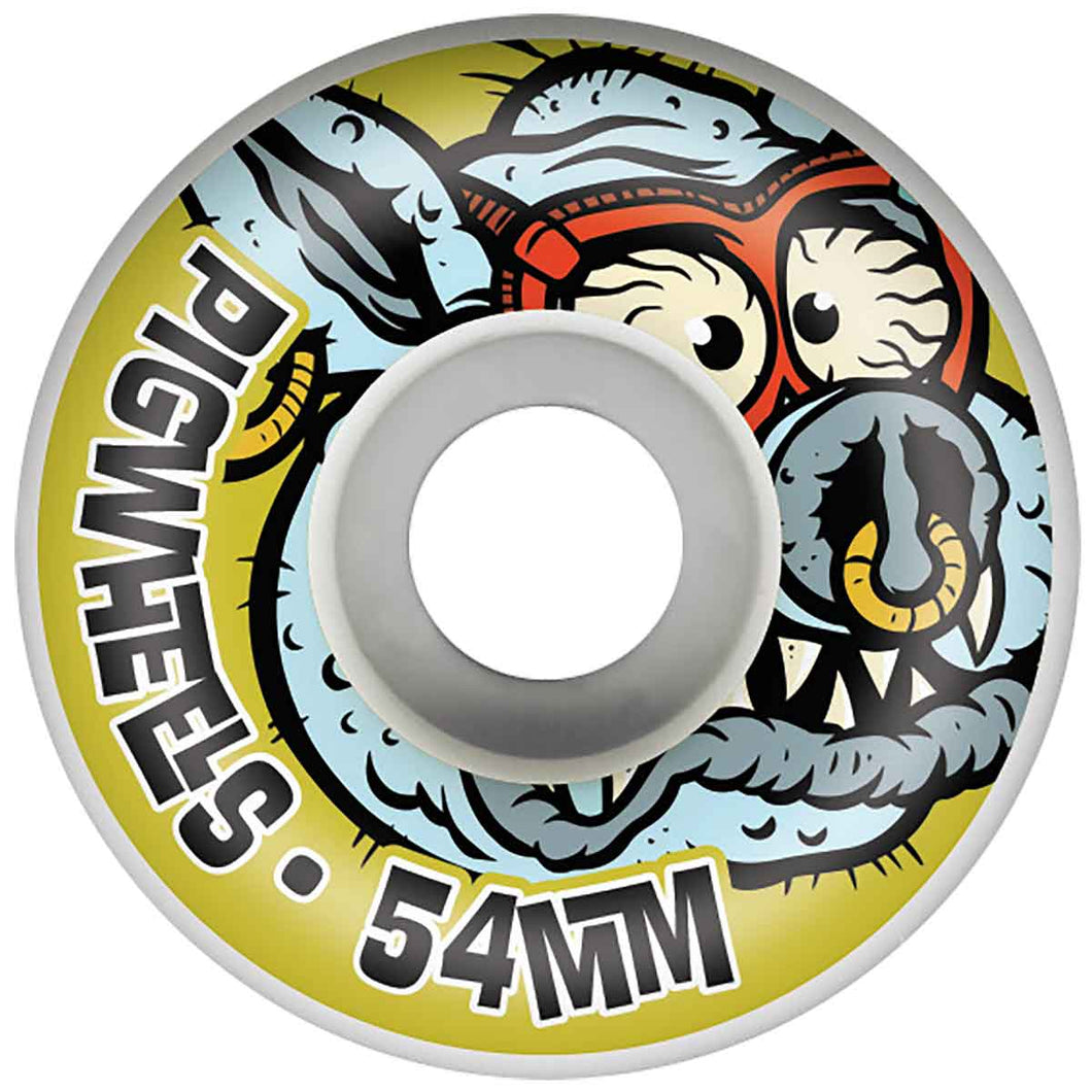 PIG HEAD WHEELS 54MM TOXIC PROLINE