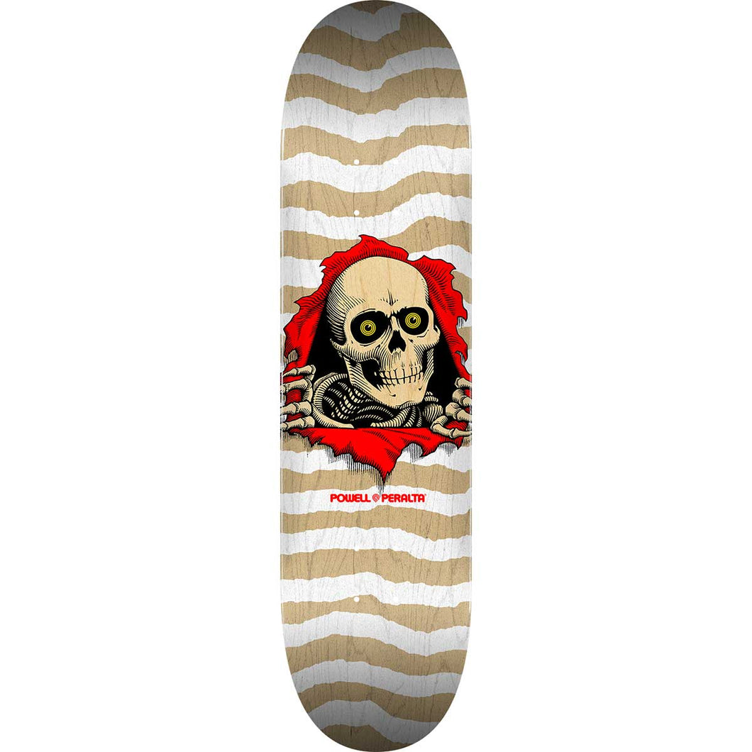POWELL PERALTA RIPPER NATURAL WHITE FALL 2020 DECK - 8X31.45