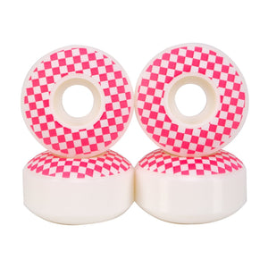 52MM SKATEBOARD CHECKERED WHEELS 99A