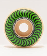 Load image into Gallery viewer, SPITFIRE 52MM CLASSIC GREEN FORMULA 4 99DURO