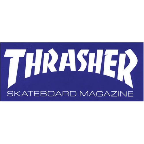 THRASHER SKATE MAG STICKER