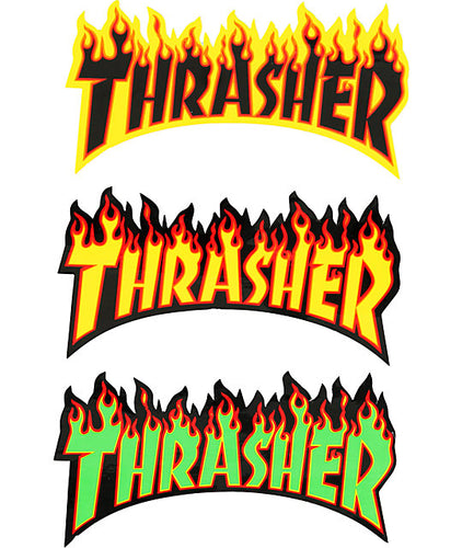 THRASHER MEDIUM STICKER