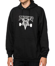 Load image into Gallery viewer, THRASHER SKATEGOAT HOODIE BLACK