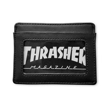 Load image into Gallery viewer, THRASHER CARD WALLET BLACK