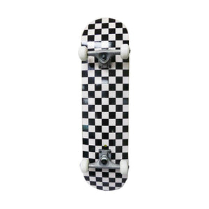 SKATEBOARD COMPLETE (CHECKERED BOTTOM)