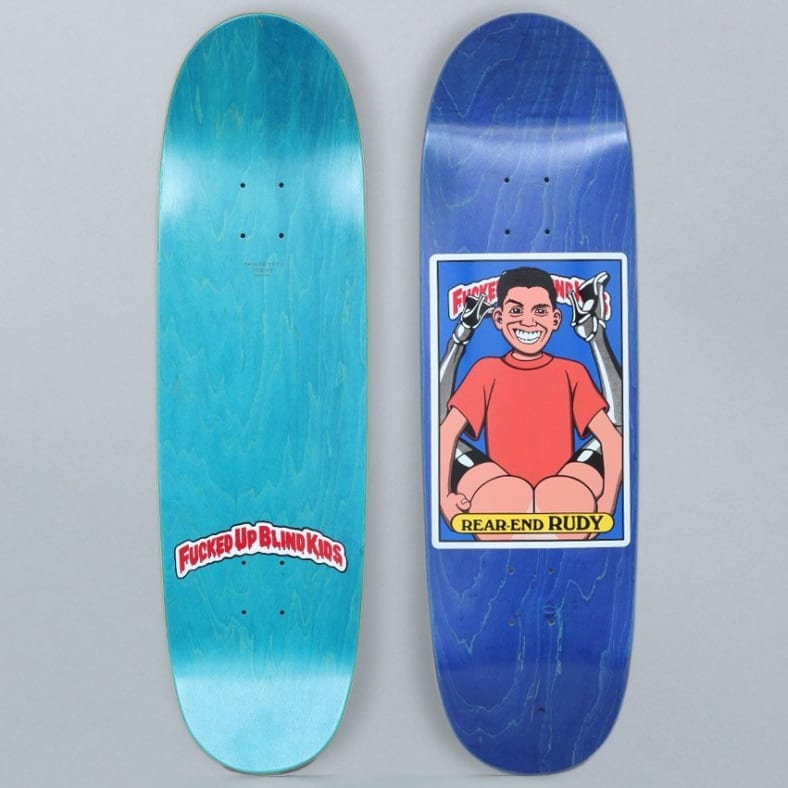 BLIND REAR END RUDY FUBK DECK - 9.0