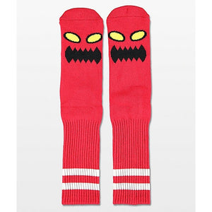 TOY MACHINE SOCK MONSTER FACE RED