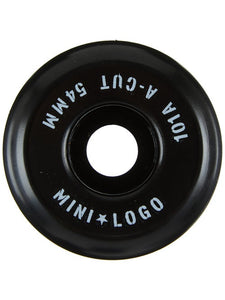 "MINI LOGO WHEELS 54MM A-CUT ""2"" 101A - BLACK"