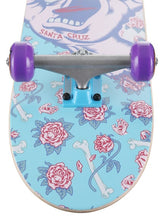 Load image into Gallery viewer, Santa Cruz Floral Decay Hand Mini Complete Skateboard Purple - 7.75 x 30""