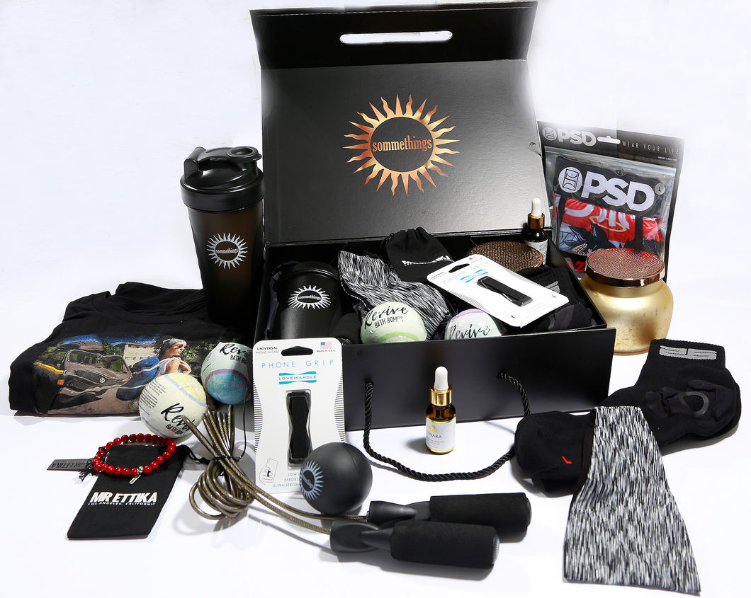 Sommethings Box for Men 8+ Items. $200+ Value for $49.99