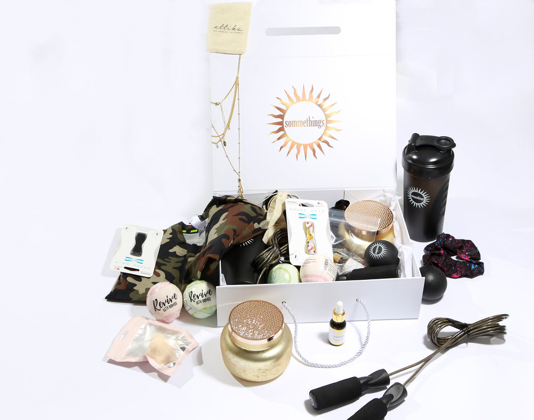 Sommethings Box for Women 8+ Items. $200+ Value for $49.99