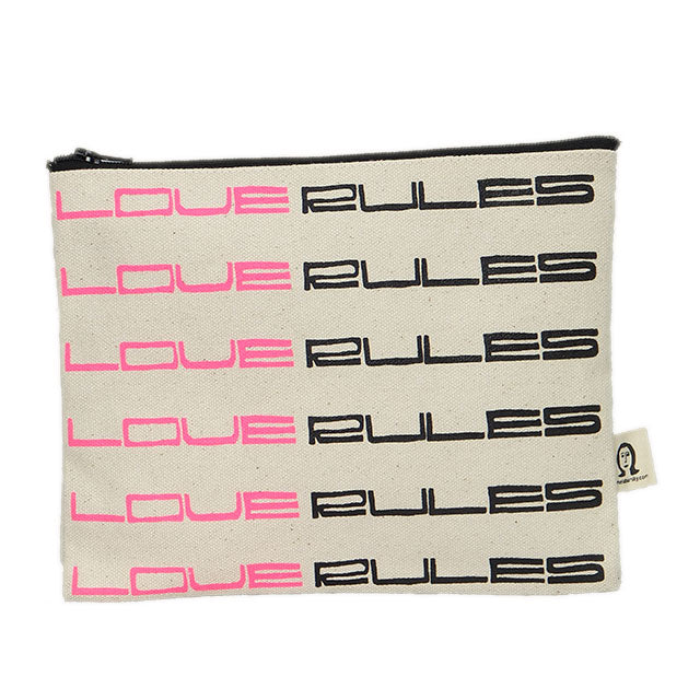 love rules pouch (ポーチ)