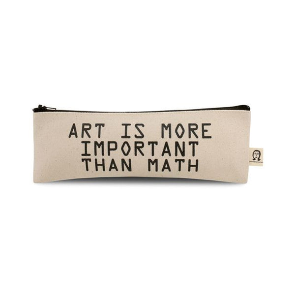 art is more important than math pouch (ポーチ)