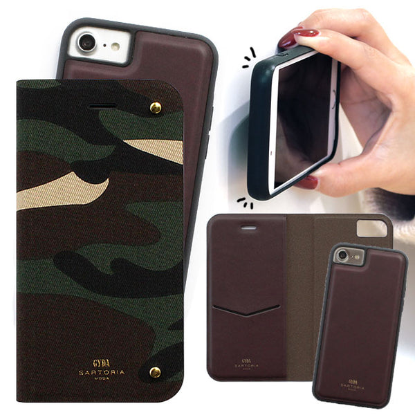 GYDA 2WAY CASE CAMO (手帳型ケース)