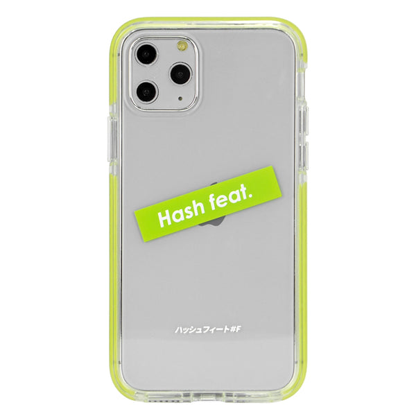ANTI-SHOCK CLEAR CASE-LIME GREEN (耐衝撃クリアケース)