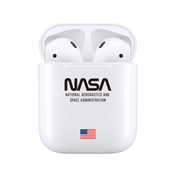 NASA_Apple AirPods case WHITE (AirPods case)