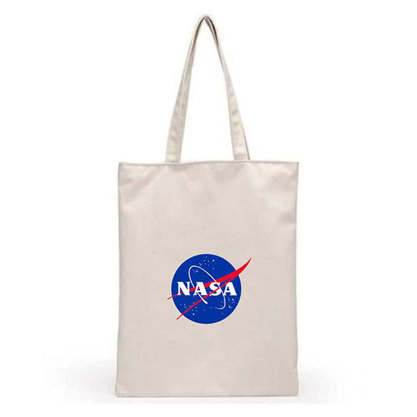 NASA CANVAS TOTE BAG LOGO_ICON (トートバック)