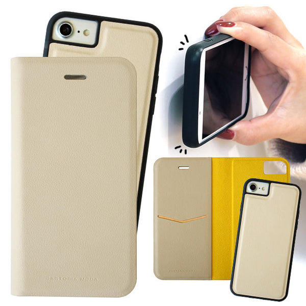 SEAMLESS 2WAY CASE BEIGE (手帳型ケース)