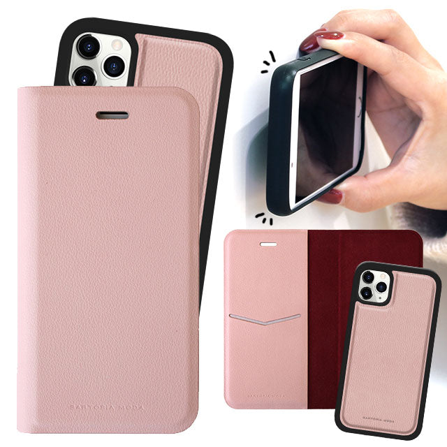 SEAMLESS 2WAY CASE PINK (手帳型ケース)