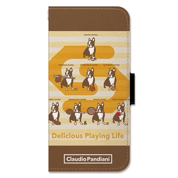 Delicious Playing Life (手帳型ケース)