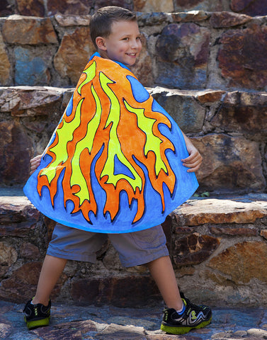 Deluxe Flame Cape
