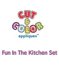 Cut & Color™ Fun In The Kitchen Set