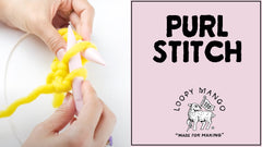 How to: Purl Stitch