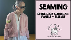 Rhinebeck Cardigan: How to Seam Panels and Sleeves