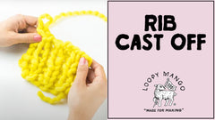 How to Cast Off: Rib Cast Off