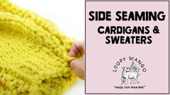 How to Seam Sides (Sweater and Cardigan)