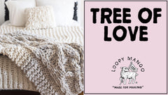 Tree of Love Blanket: How to Knit Cables