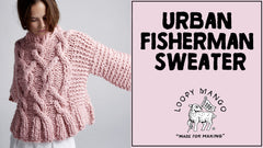 Urban Fisherman Sweater: How to Knit Cables