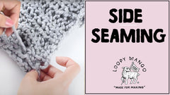 How to Seam Sides (Sweater/Top and Cardigan)