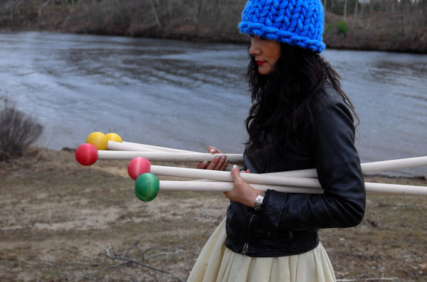 Knitting Patterns Using Size 50 Needles : Giant Knitting Needles Size 50 (25 mm) Straight 32 or 24 ...
