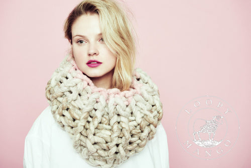 READYMADE-Two Tone Cleopatra Cowl - Merino-SALE