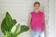 Load image into Gallery viewer, DIY Kit - Tank Top with Fringe - Big Cotton