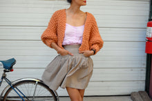 Load image into Gallery viewer, DIY Kit - Super Cropped Cardigan - Merino No. 5