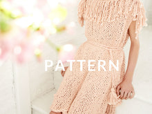 Load image into Gallery viewer, Fringe Dress PATTERN- Big Cotton
