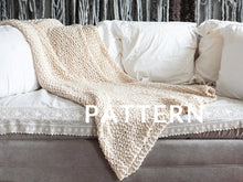 Load image into Gallery viewer, Big Cotton Blanket PATTERN- Big Cotton