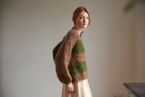 DIY Kit - Lucky Stripe Sweater - Mohair So Soft